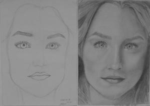 20.03 Tóth Hanna (14 éves) 1. és 3. napi rajza