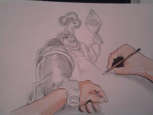 jobb agyféltekés rajz Némethi Judit 62
