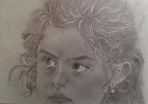 Jobb agyféltekés rajz Rubina Rosa
