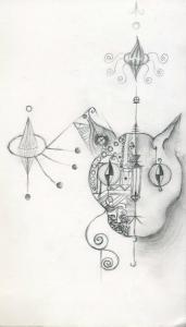 jobb agyféltekés rajz Saáry Lilla 4