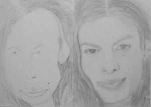 16.08 Vincze Tamás (13 éves) 1. és 3. napi rajza