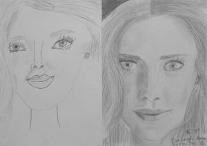 16.12 Balogh Anna Kíra (10 éves) 1. és 3. napi rajza