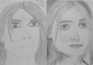 16.10 Pongor Sára (13 éves) 1. és 3. napi rajza