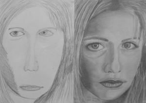 17.08 Kiss Kamilla (14 éves) 1. és 3. napi rajza