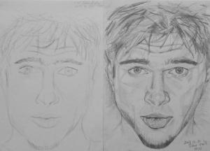 Fodor Angéla 1. és 3. napi rajza