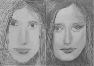 17.02 Konyári Emese Judit (12 éves) 1. és 3. napi rajza