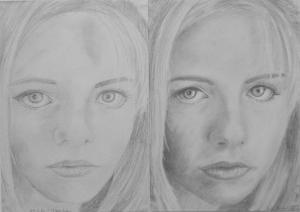 17.06 Szabó Kimberli (14 éves) 1. és 3. napi rajza