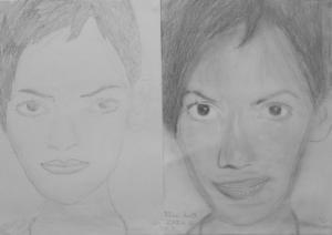 17.11 Pálóczi Anett (13 éves) 1. és 3. napi rajza