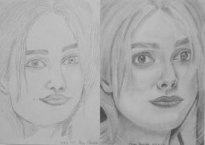 Burai Alexandra 1. és 3. napi rajza