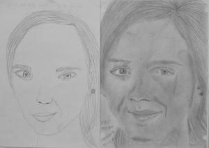 Nagy Botond (15 éves) 1. és 3. napi rajza