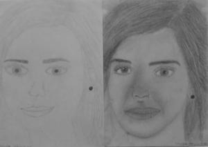 19.02 Nagy Kitti (15 éves) 1. és 3. napi rajza
