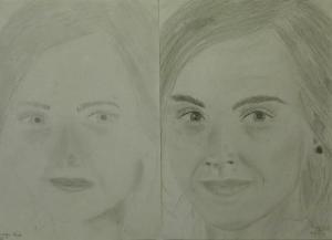 19.07 Dorogi Mira (12 éves) 1. és 3. napi rajza