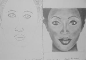jobb agyféltekés rajztanfolyam 1. és 3. napi rajz 2012.12 Konyári Mártonné