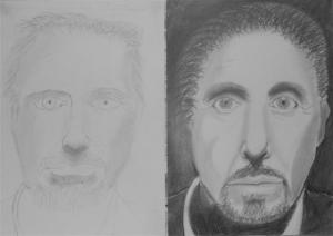 jobb agyféltekés rajztanfolyam 1. és 3. napi rajz 2012.12 Lóránt Benjamin Áron
