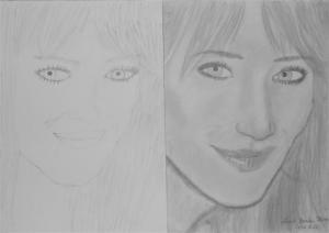 jobb agyféltekés rajztanfolyam 1. és 3. napi rajz 2012.12 Lóránt Bianka Flóra