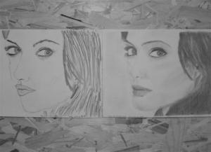 jobb agyféltekés rajztanfolyam 1. és 3. napi rajz 2012.11 Barcsa Gabriella