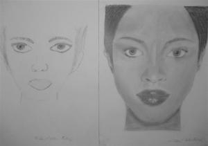 jobb agyféltekés rajztanfolyam 1. és 3. napi rajz 2012.11 Dremák Arthur