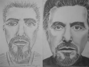 jobb agyféltekés rajztanfolyam 1. és 3. napi rajz 2012.11 Kiss-Ádám Rebeka