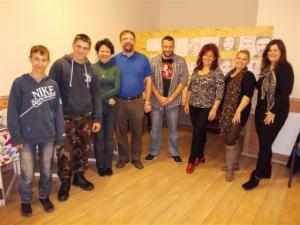 jobb agyféltekés rajztanfolyam csoportkép 2012.11