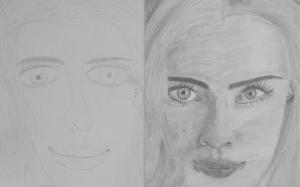 jobb agyféltekés rajztanfolyam 1. és 3. napi rajz 2013.08 Hajek Andrea