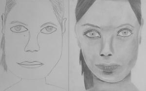 jobb agyféltekés rajztanfolyam 1. és 3. napi rajz 2013.08 K. Szabó Maja (13 éves)