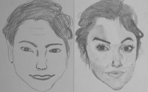 jobb agyféltekés rajztanfolyam 1. és 3. napi rajz 2013.08 Nagy Keve