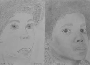 jobb agyféltekés rajztanfolyam 1. és 3. napi rajz 2013.12 Kathi Enikő (15 éves)