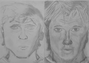 jobb agyféltekés rajztanfolyam 1. és 3. napi rajz 2013.12 Kunkli Botond (13 éves)