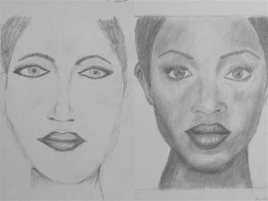jobb agyféltekés rajztanfolyam 1. és 3. napi rajz 2013.05 Dr. Magyari Marietta