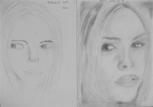 jobb agyféltekés rajztanfolyam 1. és 3. napi rajz 2013.03 Székely-Kővágó Ervin
