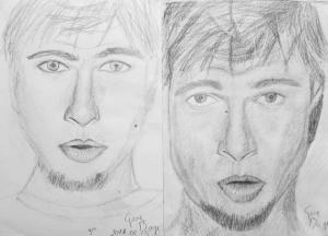 jobb agyféltekés rajztanfolyam 1. és 3. napi rajz 2014.08 Gere Boglárka (13 éves)