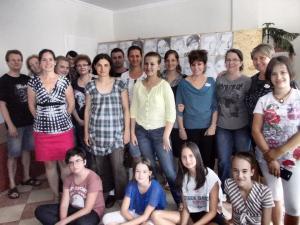 jobb agyféltekés rajztanfolyam csoportkép 2014.08