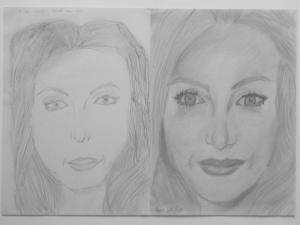 jobb agyféltekés rajztanfolyam 1. és 3. napi rajz 2014.12 Csongor Anett Napsugár (13 éves)
