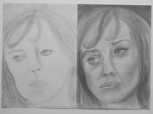 jobb agyféltekés rajztanfolyam 1. és 3. napi rajz 2014.12 Dr. Szilágyi Réka