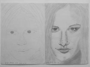 jobb agyféltekés rajztanfolyam 1. és 3. napi rajz 2014.12 Gergely Róbert