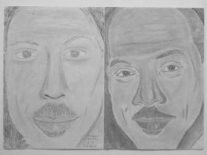 jobb agyféltekés rajztanfolyam 1. és 3. napi rajz 2014.12 Stanojevic Melissza (15 éves)