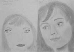 jobb agyféltekés rajztanfolyam 1. és 3. napi rajz 2014.07 Dezső Rózsa (12éves)