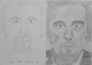 jobb agyféltekés rajztanfolyam 1. és 3. napi rajz 2014.05 Dr. Gargya Sándor