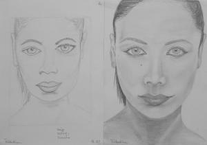 jobb agyféltekés rajztanfolyam 1. és 3. napi rajz 2014.05 Dr. Tóthmartinez Adrienn