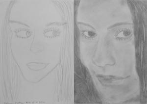 jobb agyféltekés rajztanfolyam 1. és 3. napi rajz 2014.05 Katona Andrea