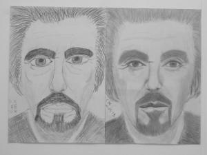 jobb agyféltekés rajztanfolyam 1. és 3. napi rajz 2014.03 Czirják Máté (15 éves)