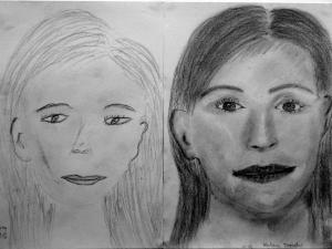 jobb agyféltekés rajztanfolyam 1. és 3. napi rajz 2014.10 Katona Dezsőné