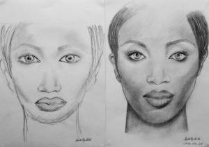 jobb agyféltekés rajztanfolyam 1. és 3. napi rajz 2014.09 Borbély Kitti