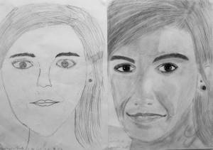 jobb agyféltekés rajztanfolyam 1. és 3. napi rajz 2014.09 Gyönyörű Bettina (12 éves)