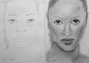 jobb agyféltekés rajztanfolyam 1. és 3. napi rajz 2014.09 Rákóczi Anett (13 éves)